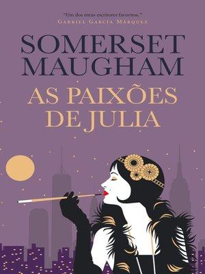 cover image of As Paixões de Julia