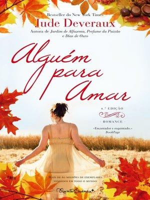 cover image of Alguém Para Amar