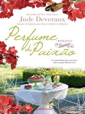 cover image of Perfume da Paixão