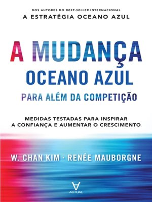 cover image of A Mudança Oceano Azul--Para além da competição