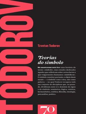 cover image of Teorias do Símbolo