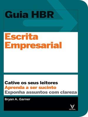 cover image of Escrita empresarial