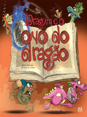 cover image of Draguim e o ovo do dragão