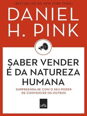 cover image of Saber vender é da natureza humana