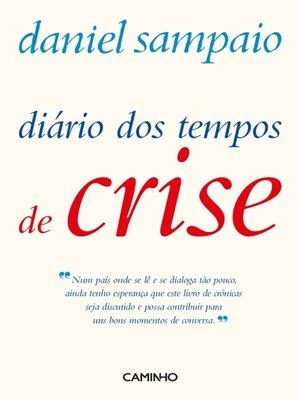 cover image of Diário dos Tempos de Crise