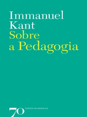 cover image of Sobre a Pedagogia