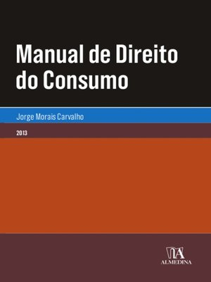 cover image of Manual de Direito do Consumo