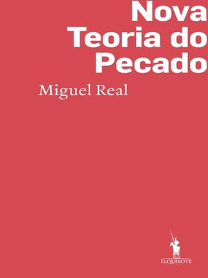 cover image of Nova Teoria do Pecado