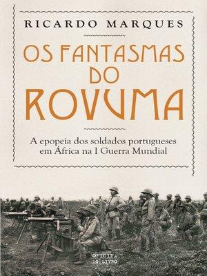 cover image of Os Fantasmas do Rovuma