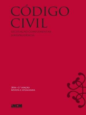 cover image of Código Civil--2.ª edição revista e atualizada