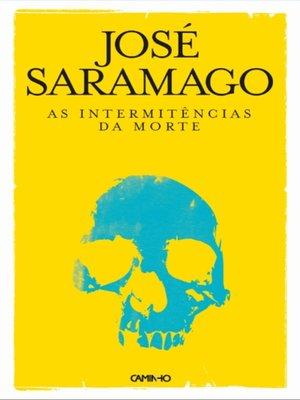 cover image of As Intermitências da Morte