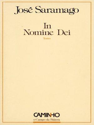 cover image of In Nomine Dei