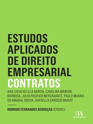 cover image of Estudos Aplicados de Direito Empresarial--Contratos