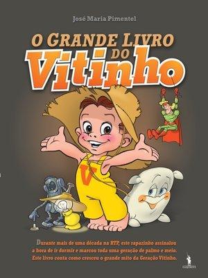 cover image of O Grande Livro do Vitinho