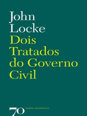 cover image of Dois Tratados do Governo Civil