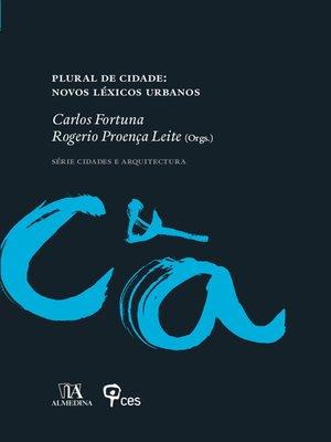 cover image of Plural de Cidade