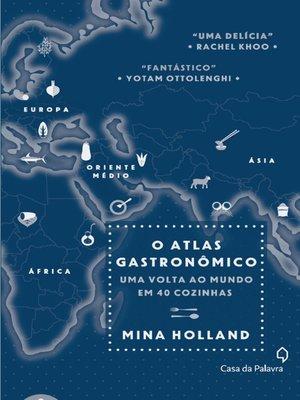 cover image of O Atlas gastronômico
