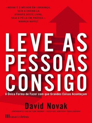 cover image of Leve as Pessoas Consigo