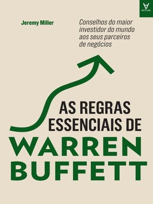 cover image of As Regras Essenciais de Warren Buffett