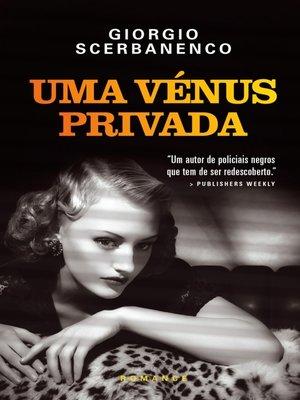 cover image of Uma Vénus Privada