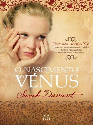 cover image of O Nascimento de Vénus