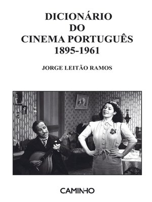 cover image of Dicionário do Cinema Português 1895-1961