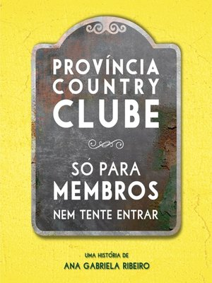 cover image of Província Country Clube