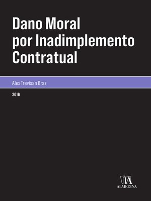 cover image of Dano Moral por Inadimplemento Contratual