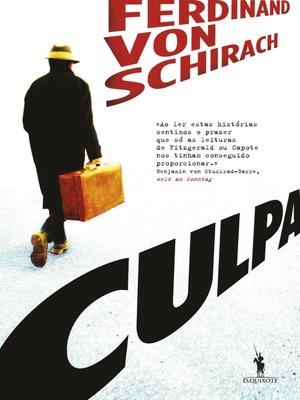 cover image of Culpa