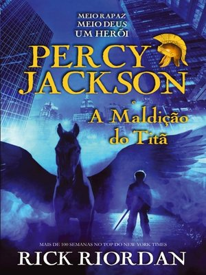 cover image of Percy Jackson e a Maldição do Titã
