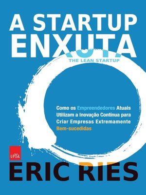cover image of A Startup Enxuta