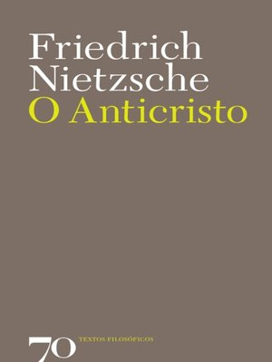 cover image of O Anticristo