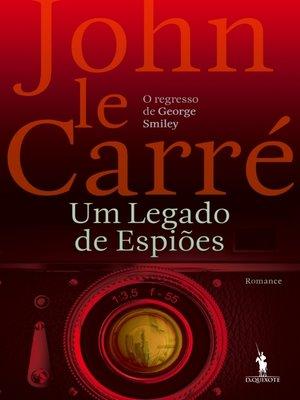 cover image of Um Legado de Espiões