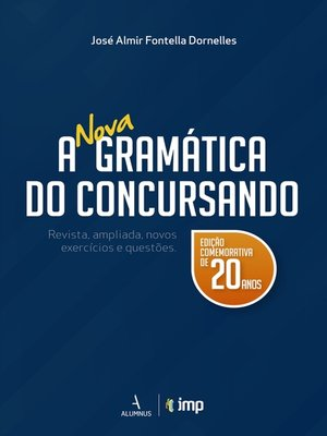 cover image of A nova gramática do concursando