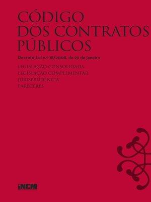 cover image of Código dos Contratos Públicos