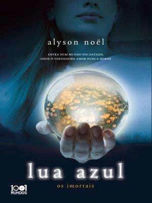 cover image of Lua azul