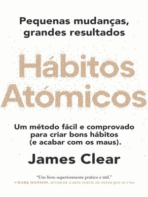 cover image of Hábitos Atómicos