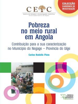 cover image of Pobreza no meio rural em Angola
