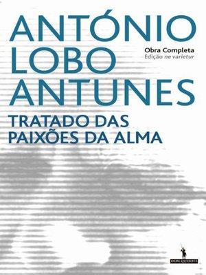 cover image of Tratado das Paixões da Alma