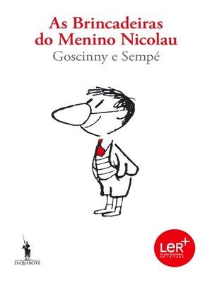 cover image of As Brincadeiras do Menino Nicolau