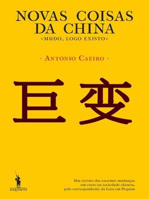 cover image of Novas Coisas da China