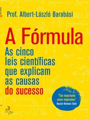 cover image of A Fórmula