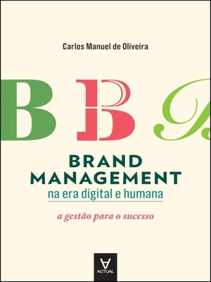 cover image of Brand Management na era Digital e Humana