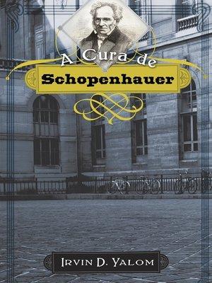 cover image of A Cura de Schopenhauer