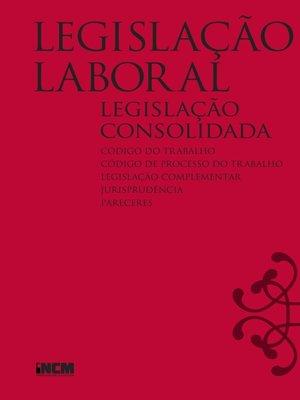 cover image of Legislação Laboral