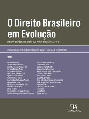cover image of O Direito Brasileiro em Evolução