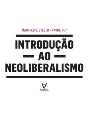 cover image of Introdução ao Neoliberalismo
