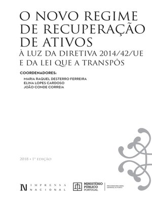 cover image of Recuperação De Ativos – Diretiva 2014-42