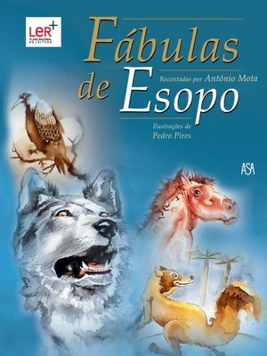 cover image of Fábulas de Esopo