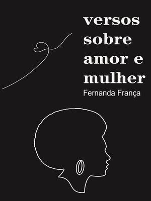 cover image of Versos sobre amor e mulher